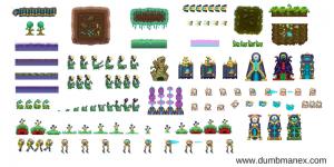 Free Game Art Assets at Dumbmanex Image