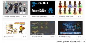 Game Art Assets at gamedevmarket image