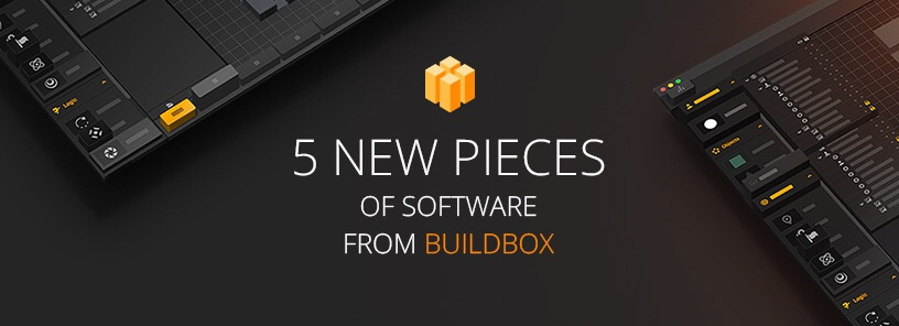 5 new pieces of software from Buildbox