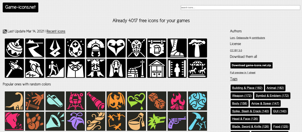gameicons.net - free game art
