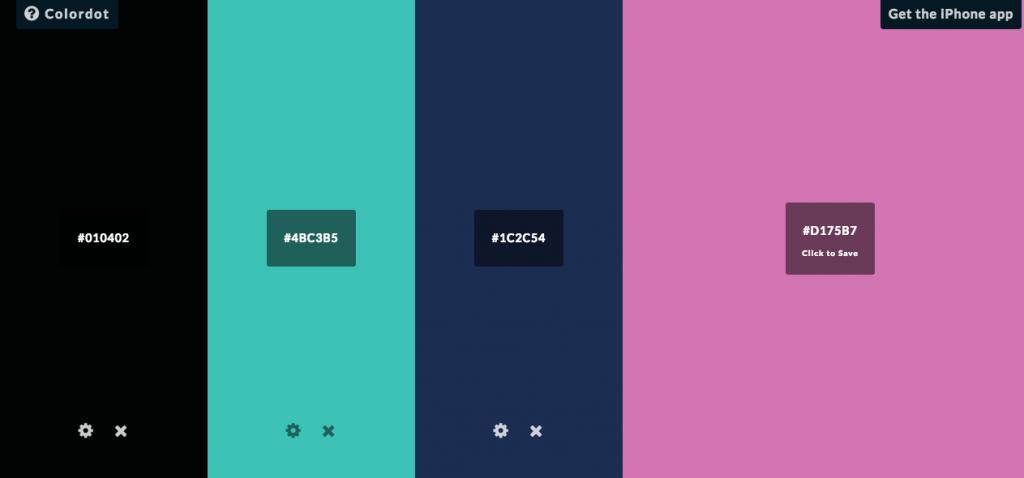 Colordot - Color Palette Generators