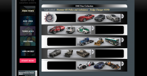 DMI Free 3D Car Models