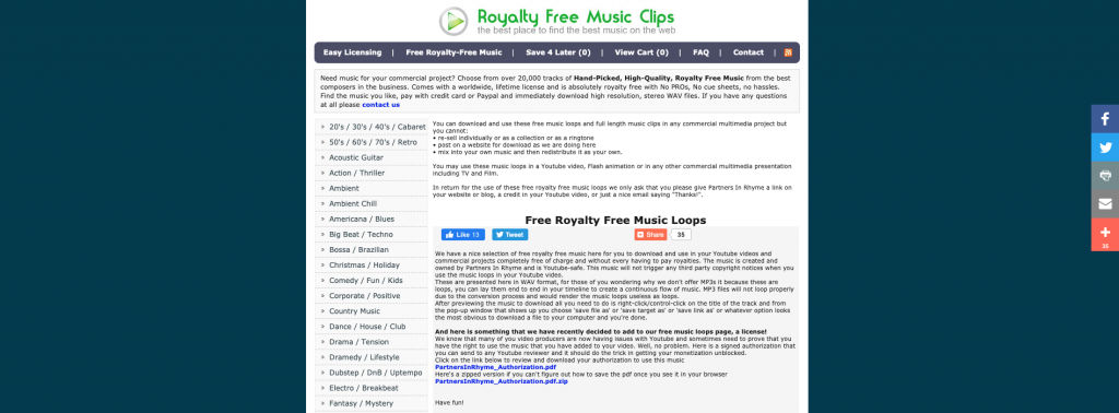 Free Music Clips - Partners in Rhyme