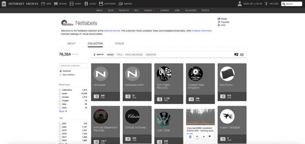 Netlabel - free game music