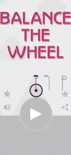 balance the wheel 2