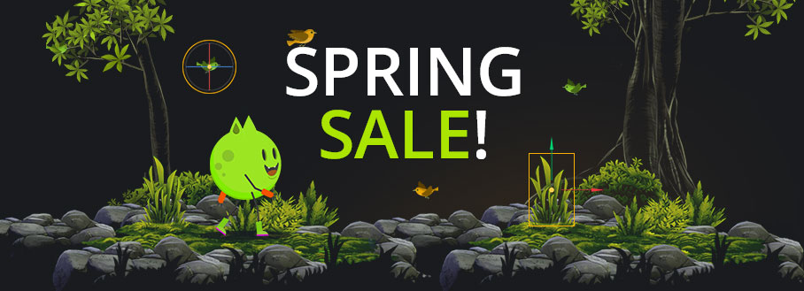 Buildbox Spring Sale