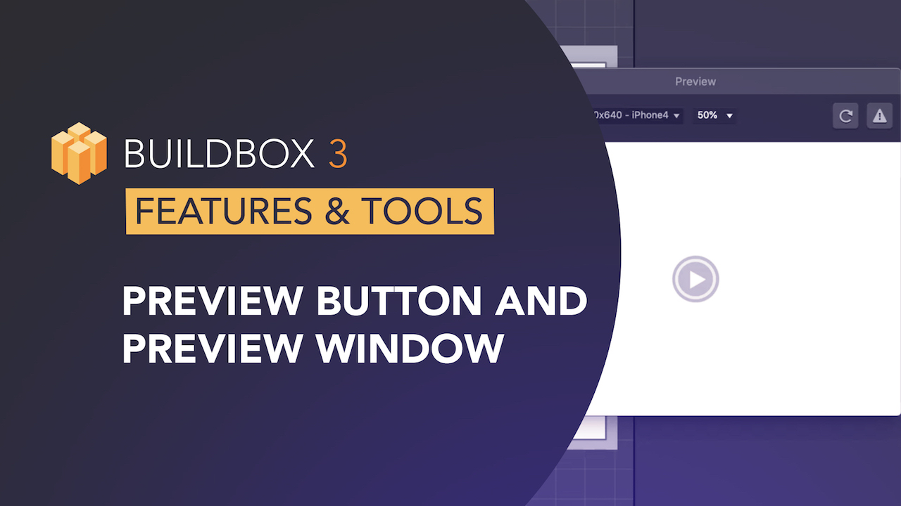 Preview Button and Preview Window