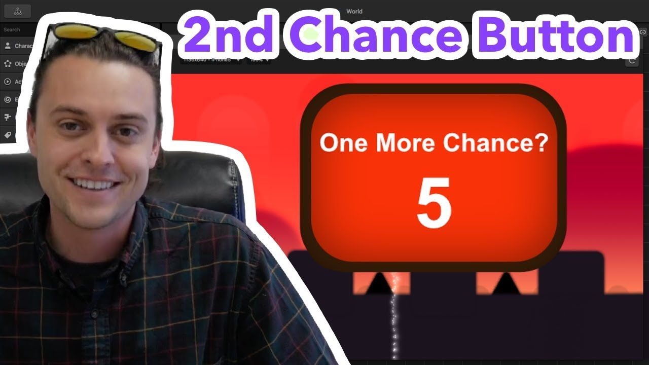 How To Add A 2nd Chance Button To Your Buildbox Game