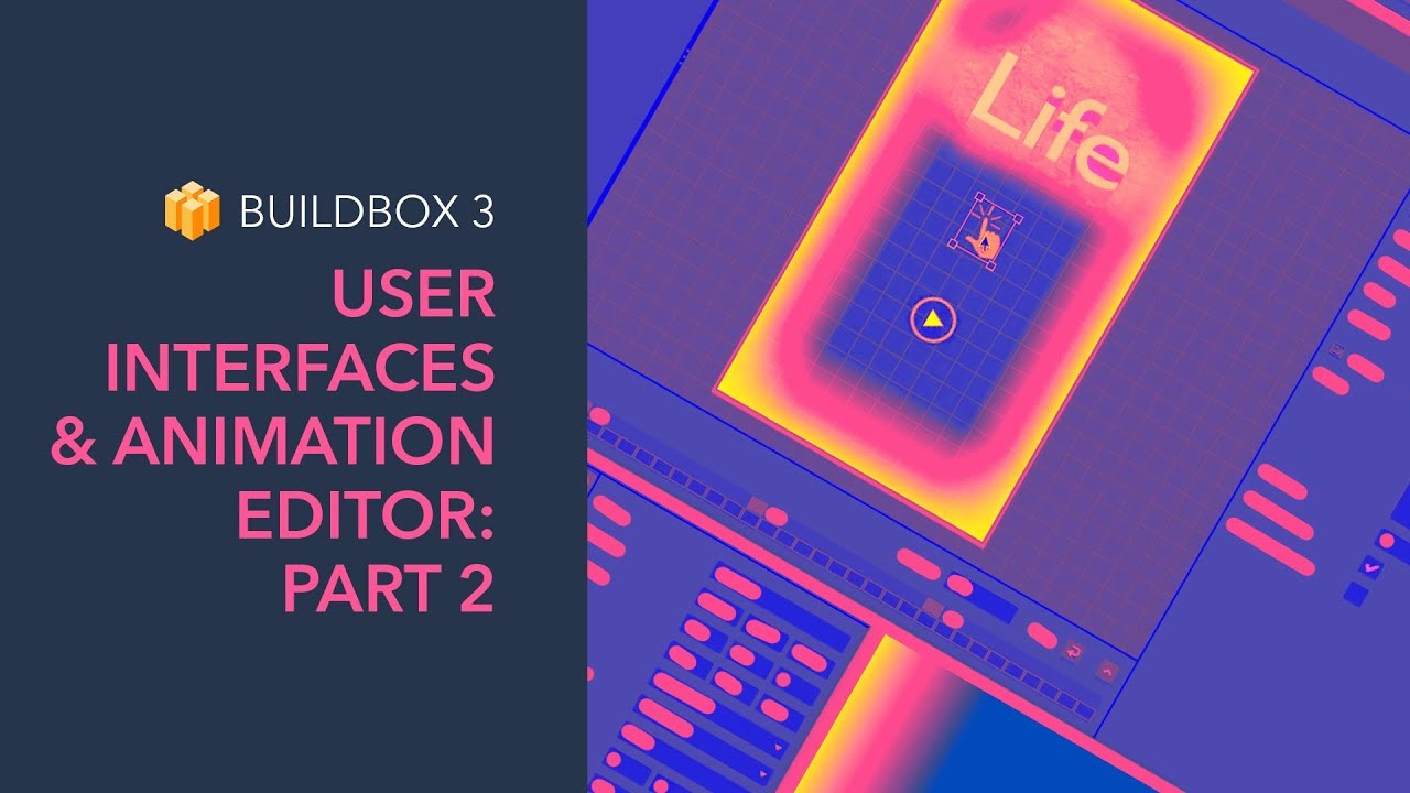 User Interfaces And Animation Editor – Part 2