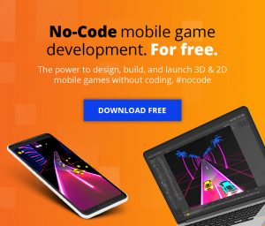 no-code mobile game development for free the power to design build and launch 3d and 2d mobile games without coding #nocode no code