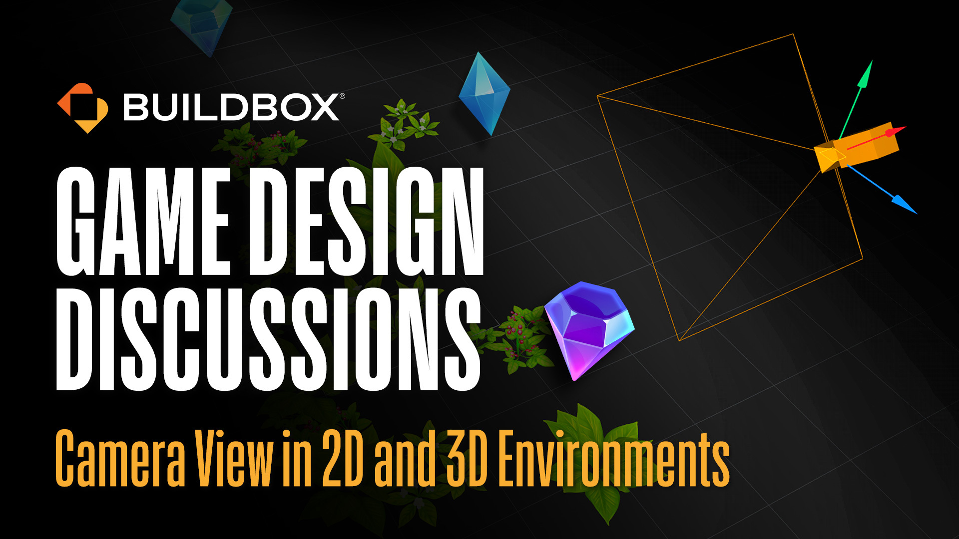 Game Design Discussions Episode 1: Camera Views in 2D and 3D Environments
