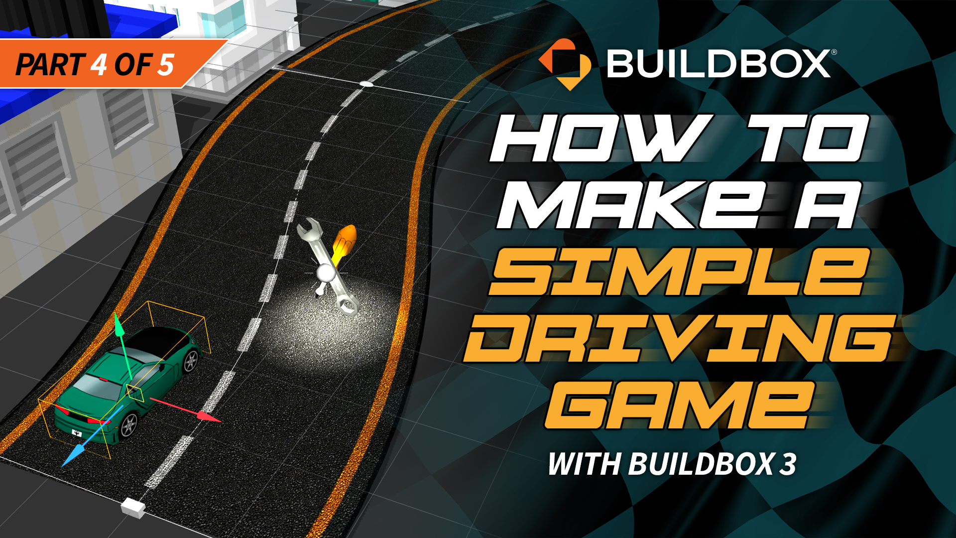 How To Make A Simple Driving Game With Buildbox 3: Part 4