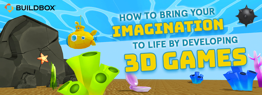 how to design 3d games